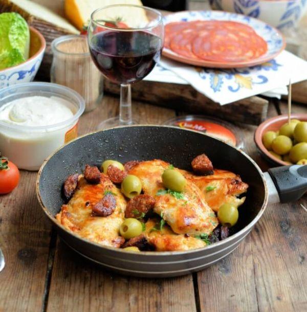 Spanish chorizo recipe