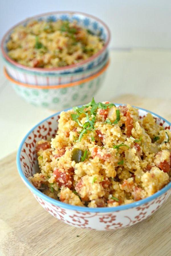 Spanish healthy rice recipe