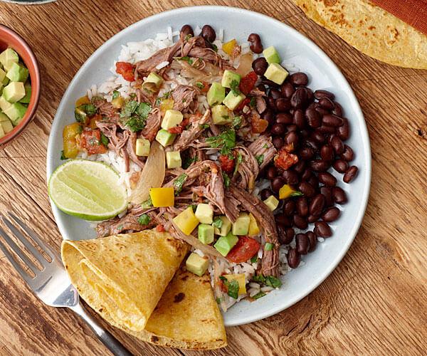 Spanish rice and bean recipe