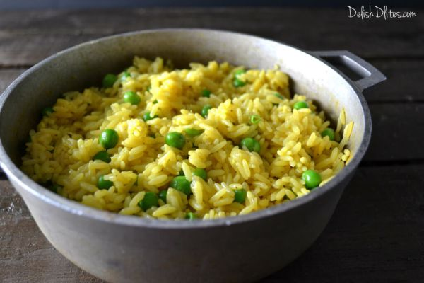 Spanish yellow rice recipe