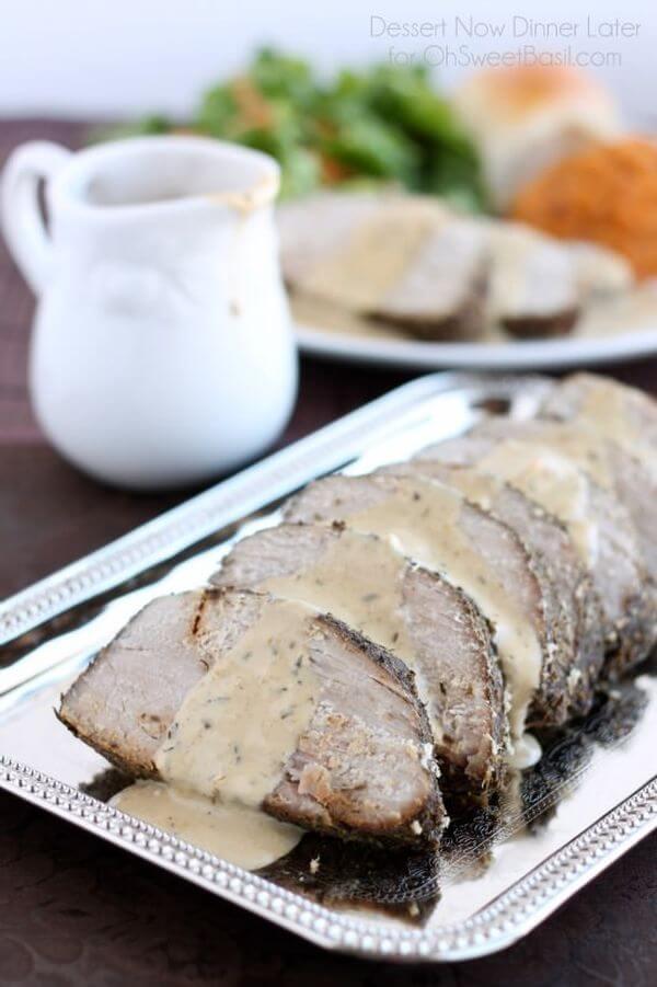 easy roast pork recipe