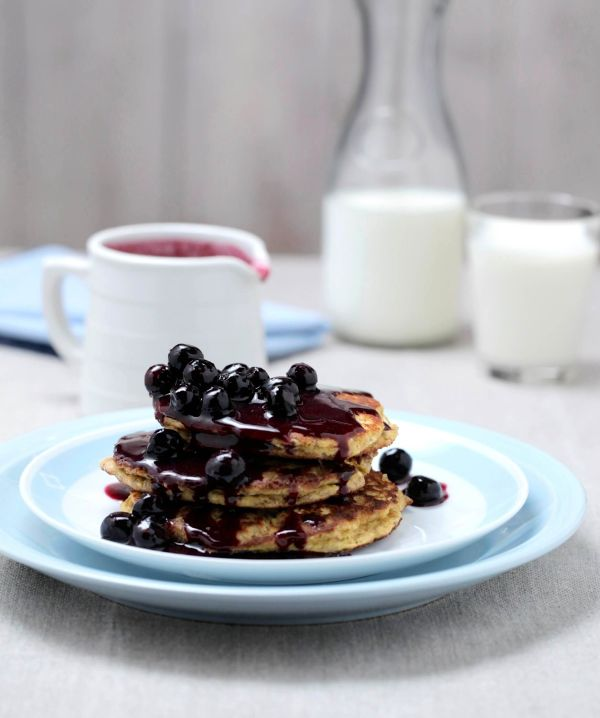 healthy ricotta pancakes recipe