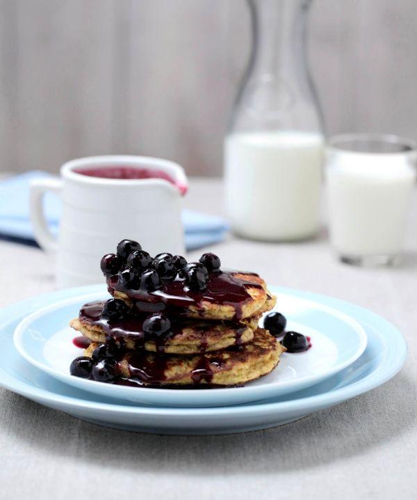 healthy ricotta pancakes recipe