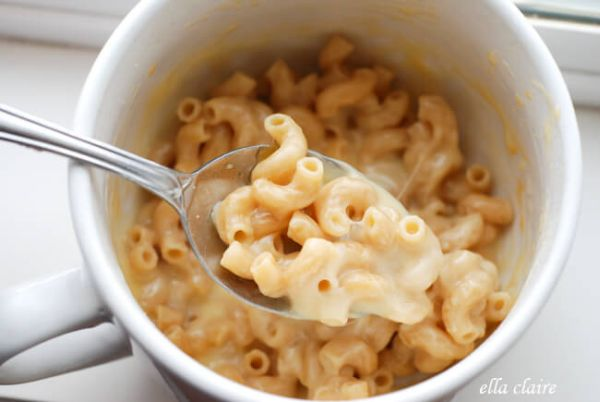 quick healthy mac and cheese