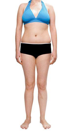 skinny fat look
