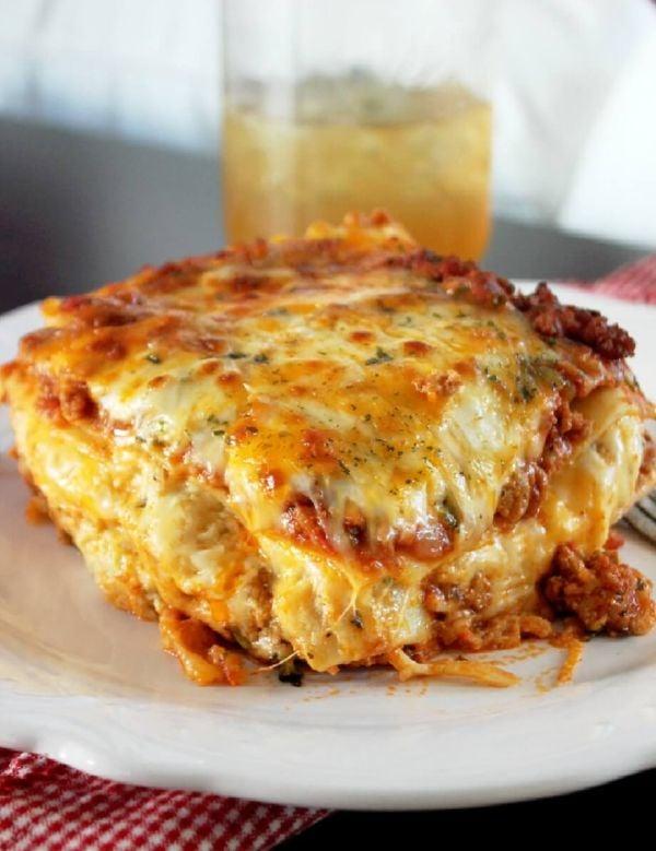 Cajun Lasagna recipe