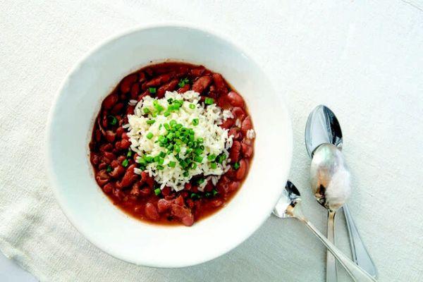 cajun beans rice recipe