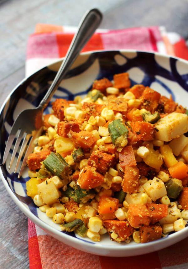 healthy cajun salad recipe