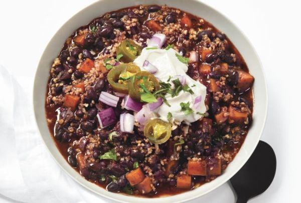 high protein chili recipe