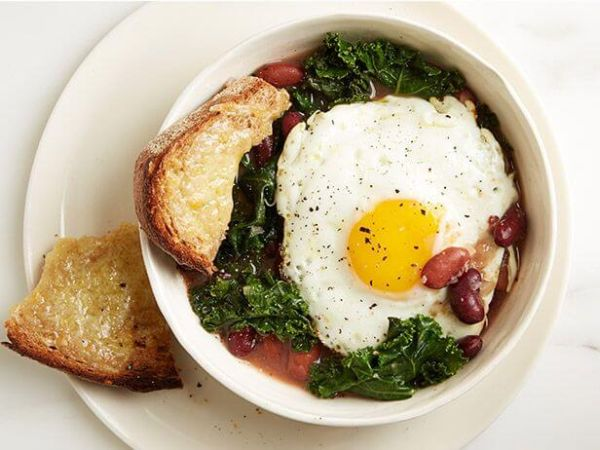 high protein egg stew