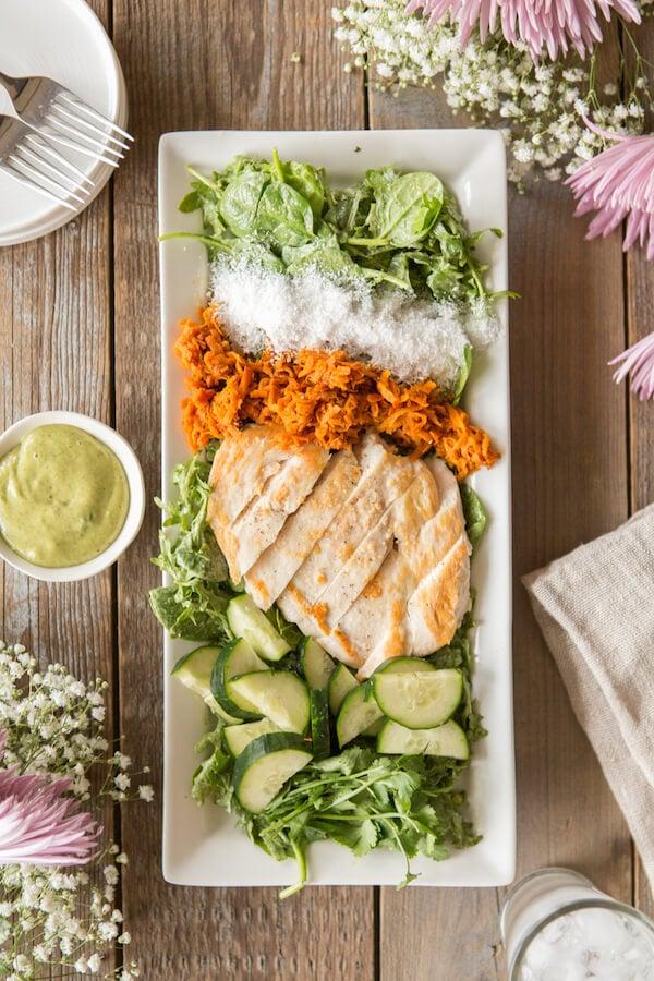 thai coconut chicken salad recipe