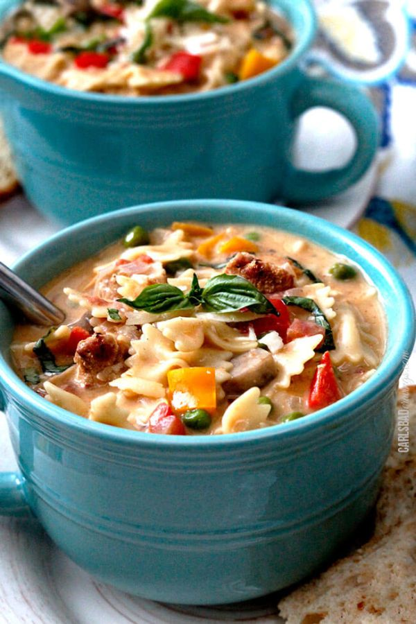 Cajun Chicken Soup recipe