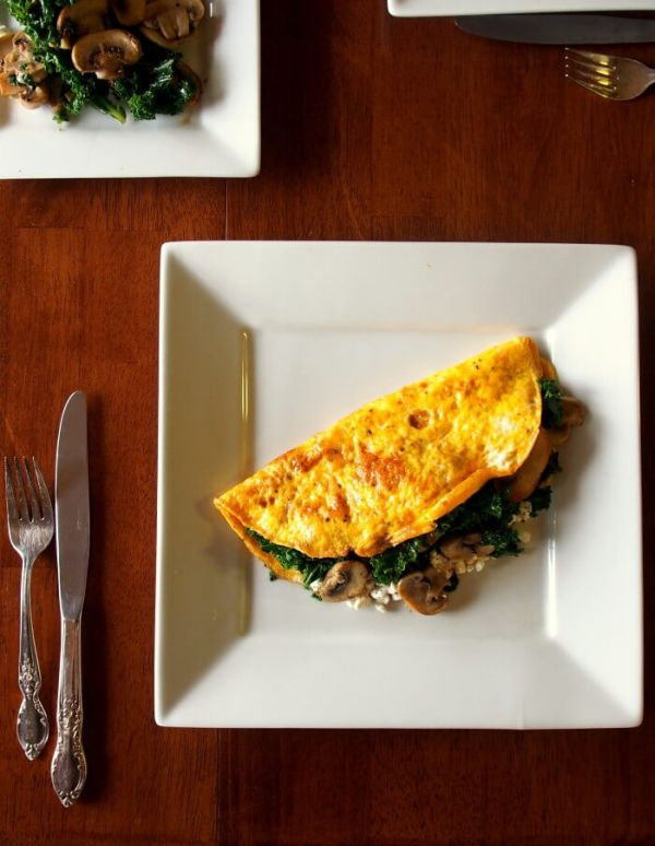 high protein Omelette recipe