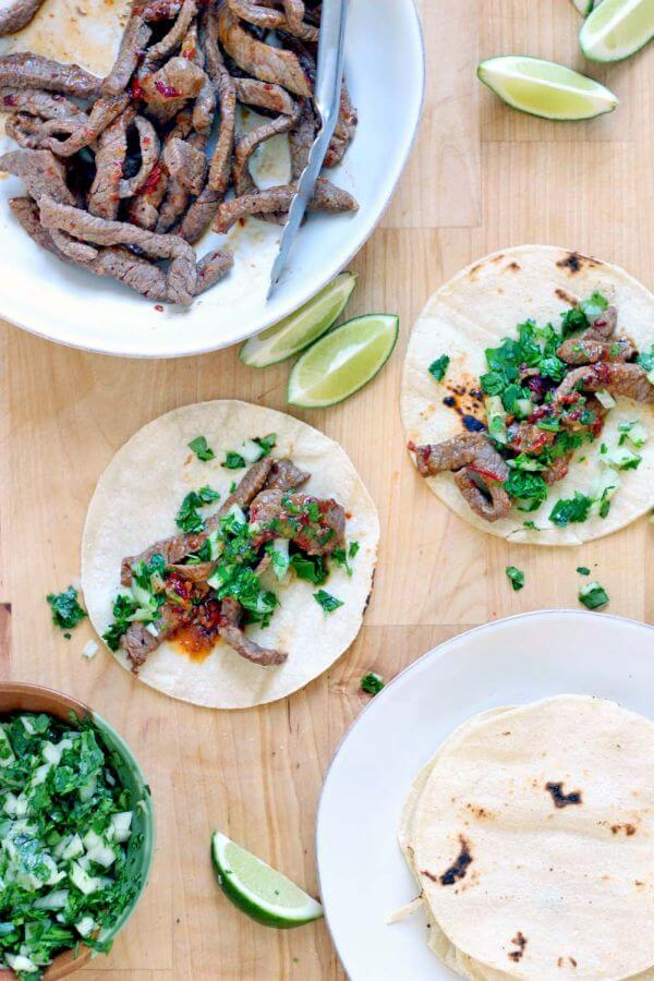 easy Chipotle Steak Tacos