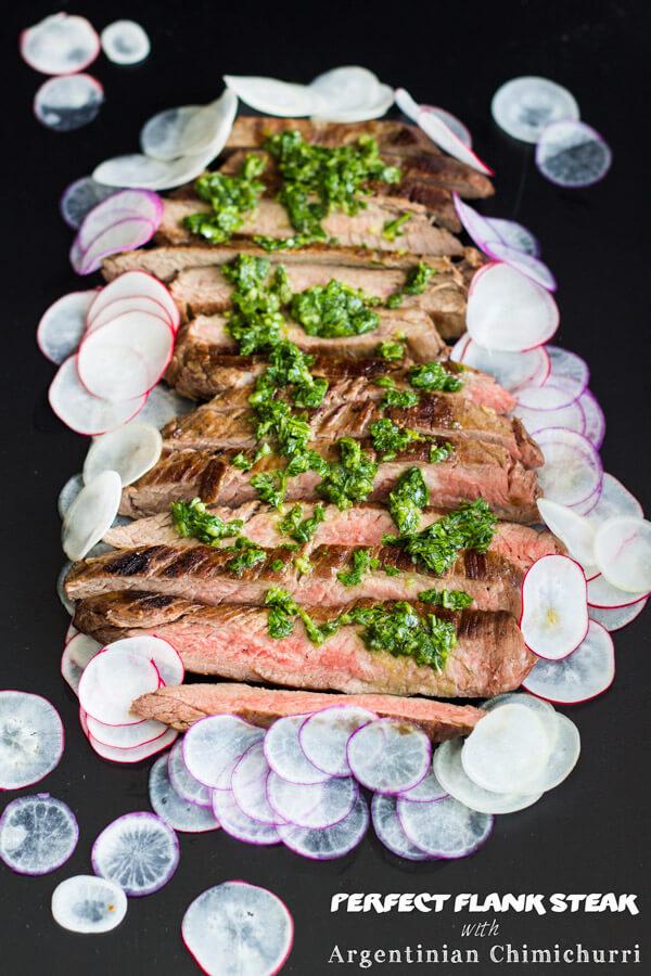 easy Steak Argentinian Chimichurri
