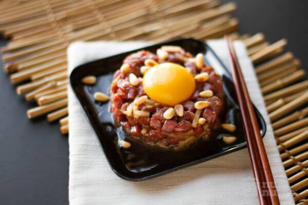 easy beef tartare recipe