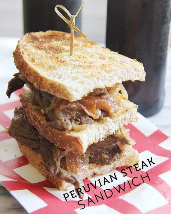 easy steak sandwich recipe