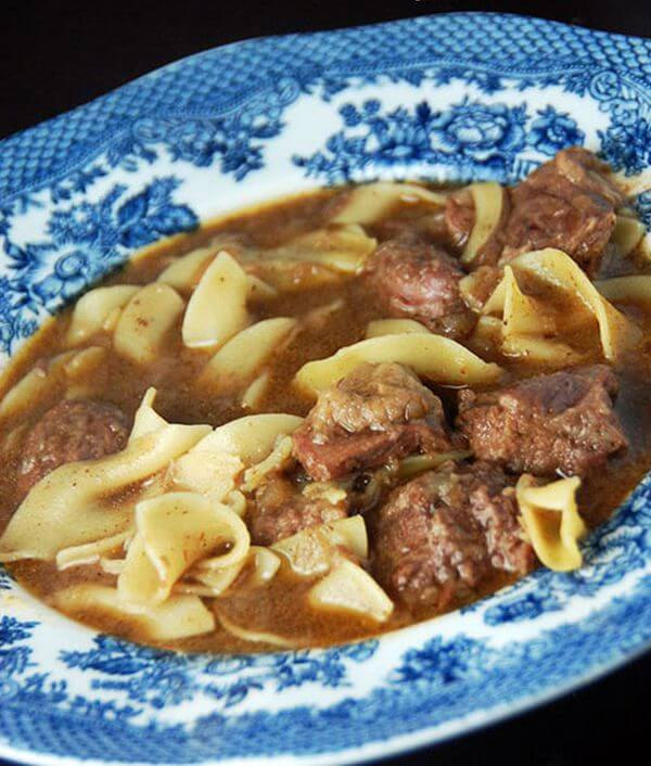 easy steak soup recipe