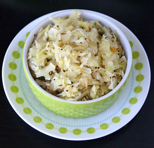 healthy indian cabbage recipe
