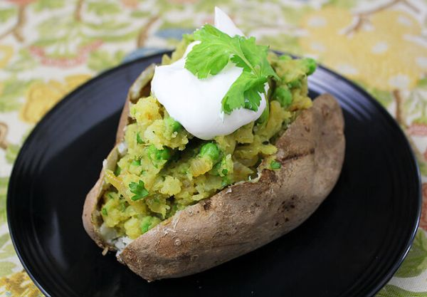 indian baked potato recipe
