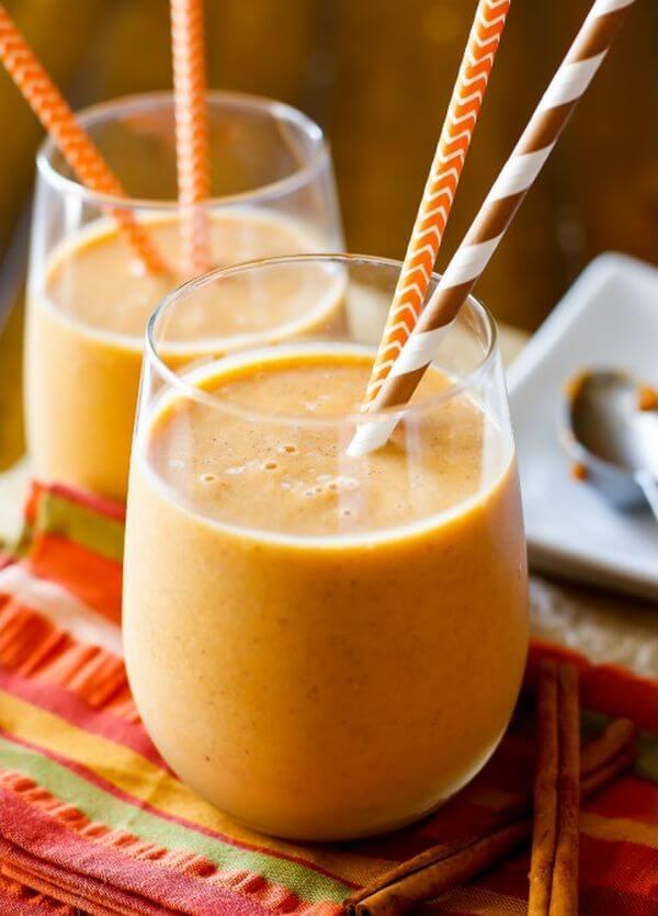 pumpkin protein shake recipe