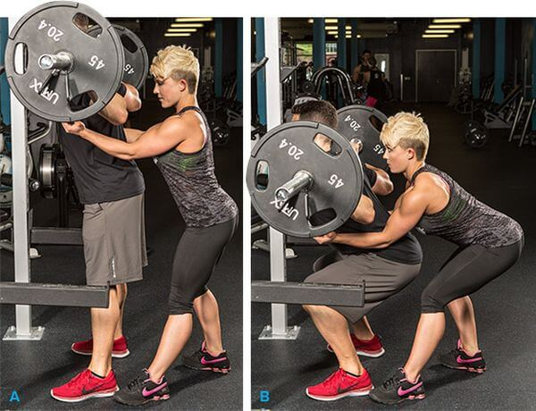 How to Spot the Squat