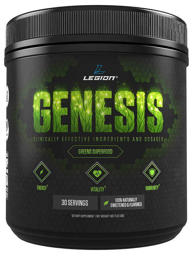 Legion genesis greens supplement