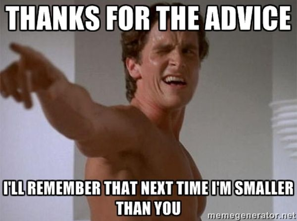 bad gym advice