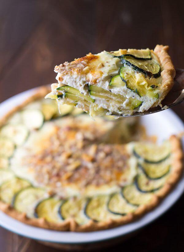healthy Ricotta Quiche recipe