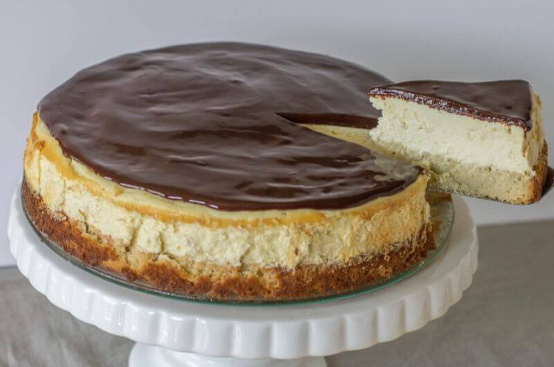 healthy boston cream cheesecake recipe