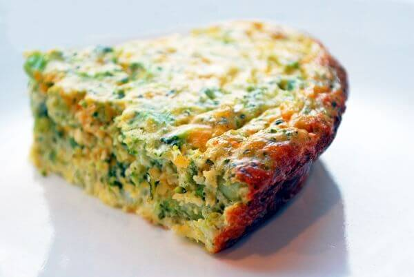 healthy broccoli quiche recipe