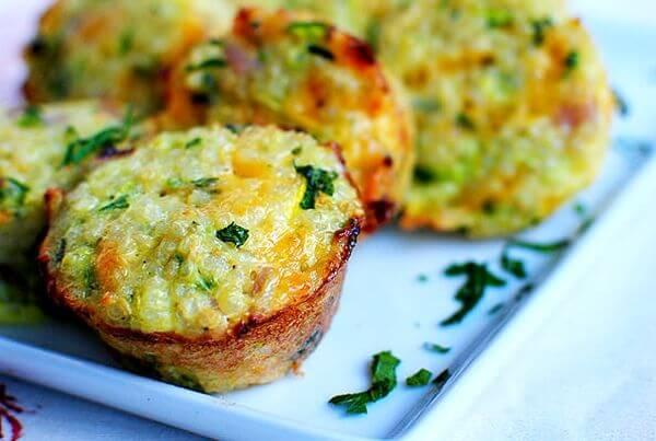 healthy cauliflower quiche recipe