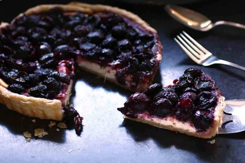healthy cherry cheesecake recipe