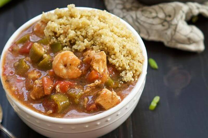 healthy one pot gumbo