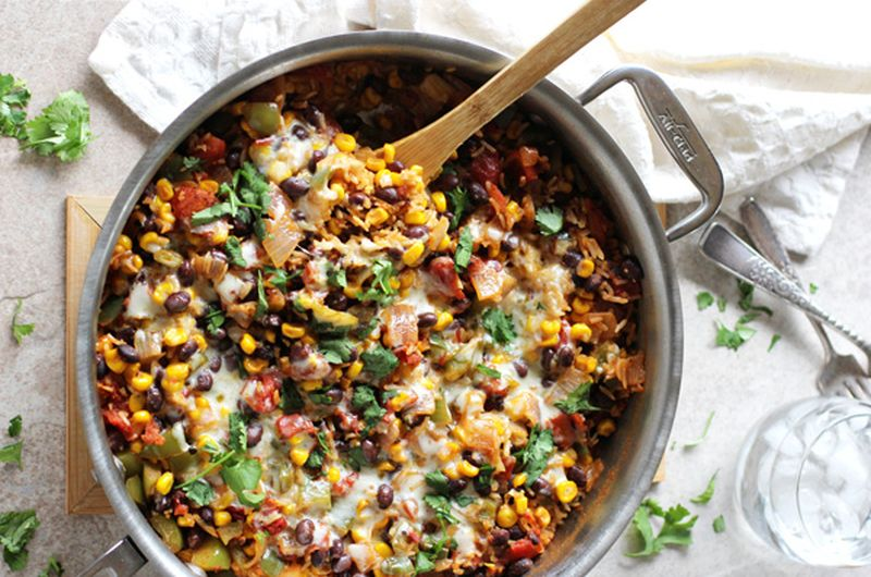 healthy one pot mexican rice recipe