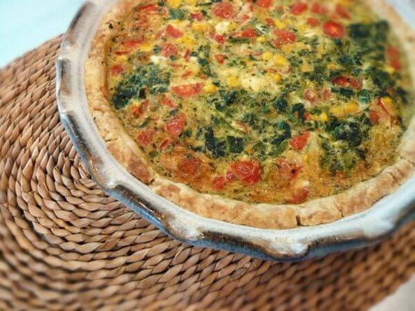 healthy quick quiche recipe