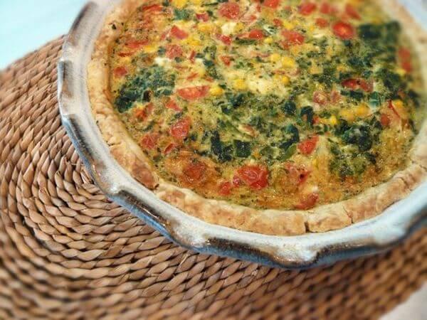 healthy quick quiche recipe