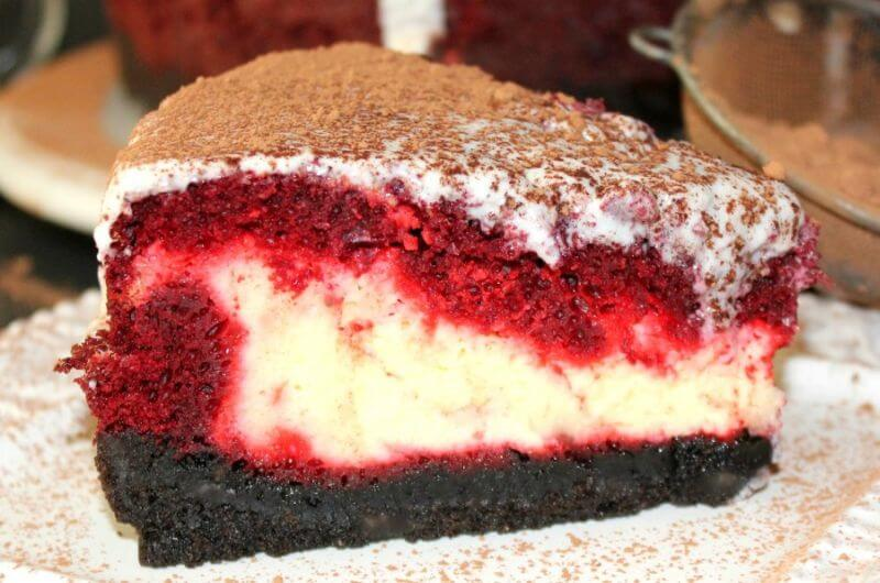 healthy red velvet cheesecake recipe