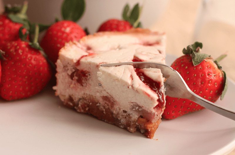 healthy strawberry cheesecake recipe