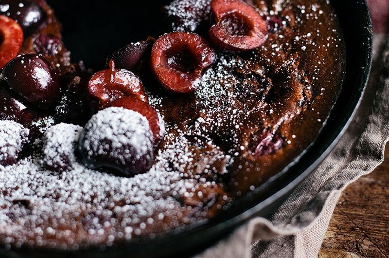 low calorie clafoutis recipe