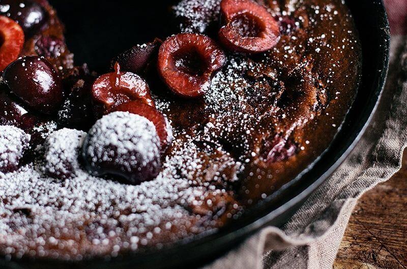 low calorie clafoutis recipe
