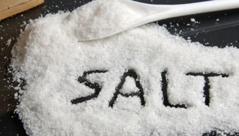 much sodium intake per day