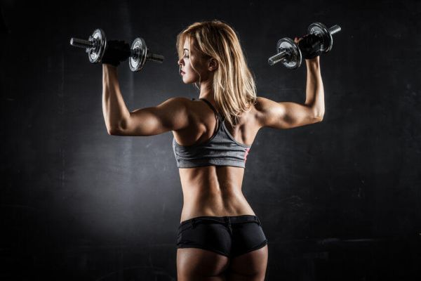 How to Spot the Dumbbell Press
