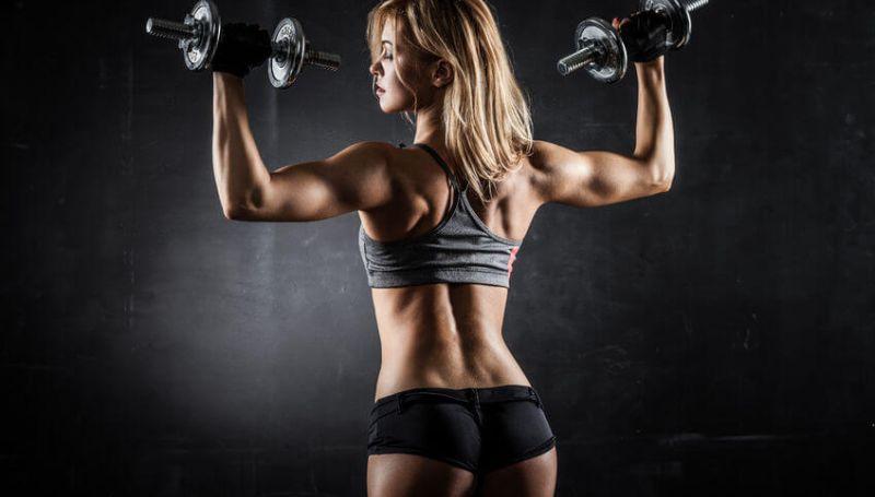 lat exercises women