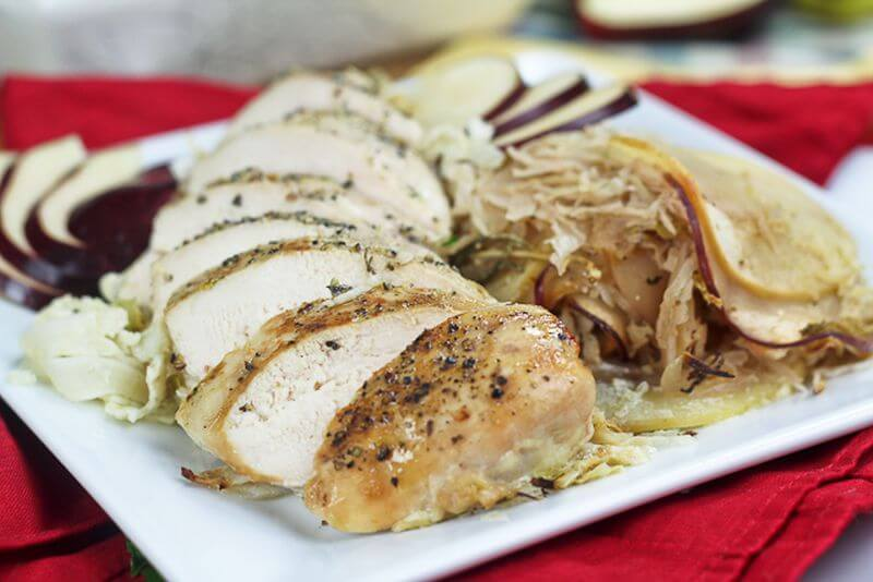healthy baked chicken recipe