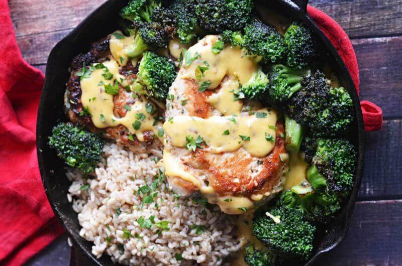 healthy chicken and broccoli recipe