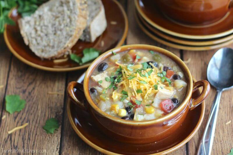 healthy chicken chowder recipe