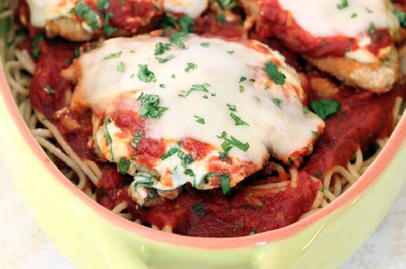 healthy chicken parm recipe