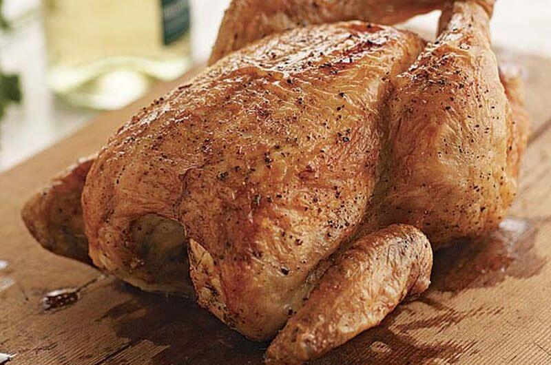 healthy roasted chicken recipe