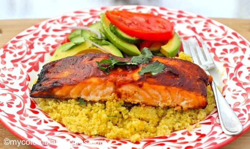 healthy seafood Salmon recipe